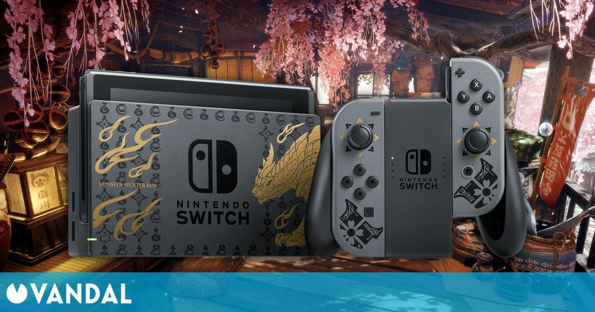 Ventas Japón: Monster Hunter Rise y Switch los más vendidos una semana más