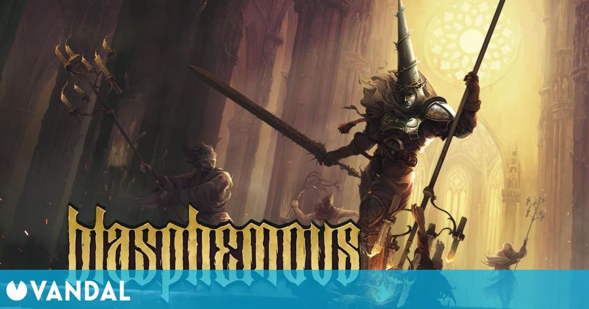 Blasphemous en formato físico tuvo un gran debut en su lanzamiento en España