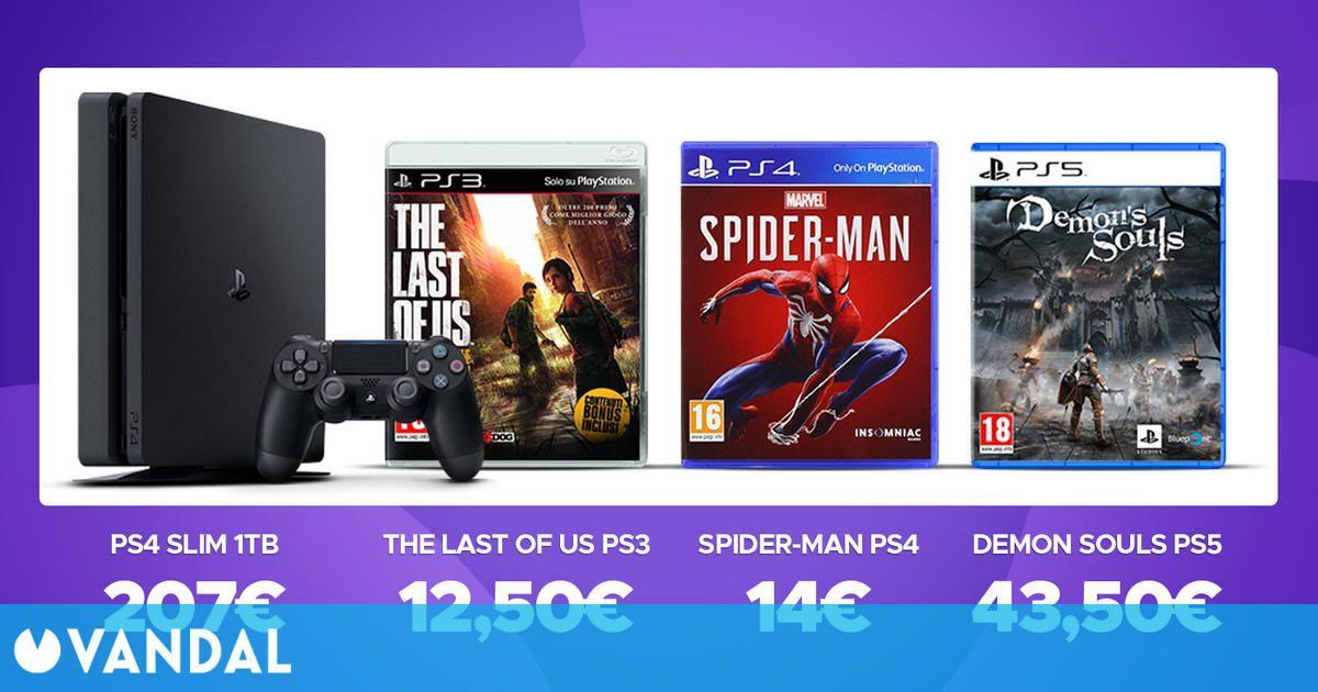 ¿Cuánto crees que vale tu PlayStation y juegos físicos? Aquí te lo contamos