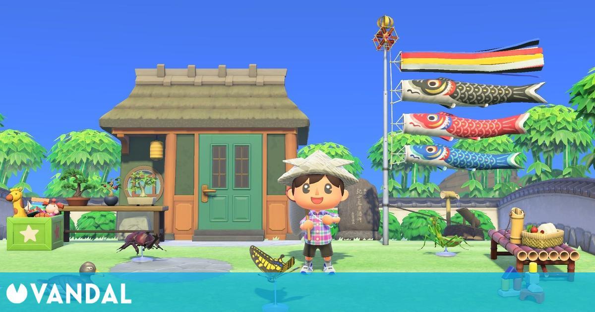 Animal Crossing: New Horizons se actualiza con eventos, objetos, temporada de bodas y más