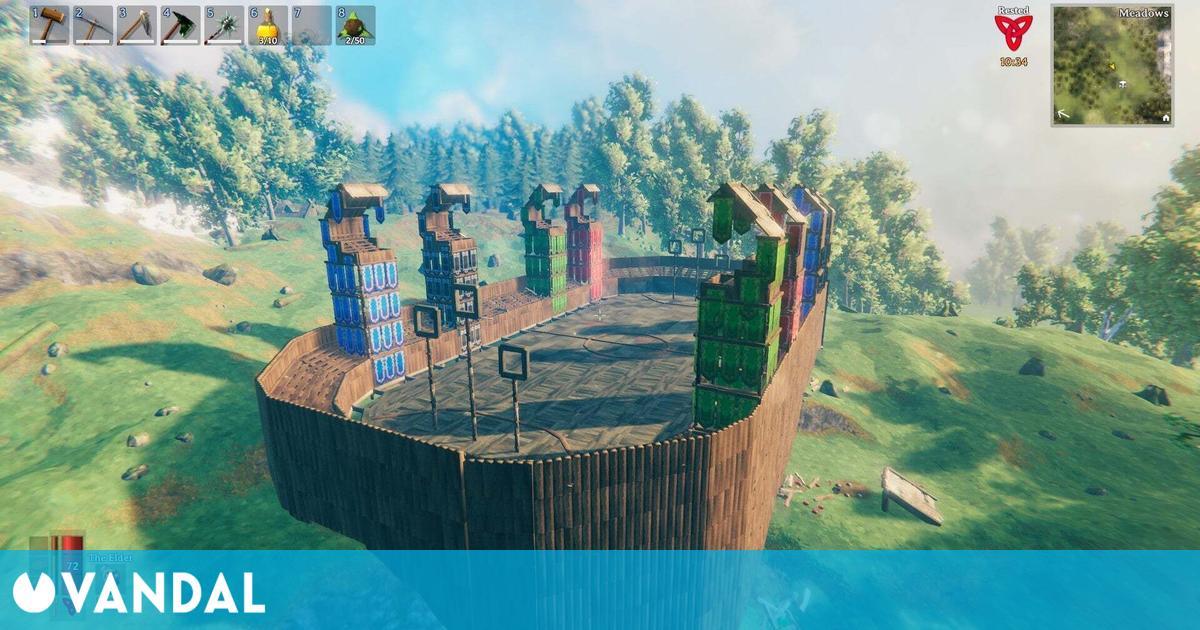 Valheim: Hogwarts de Harry Potter se cuela en el juego vikingo