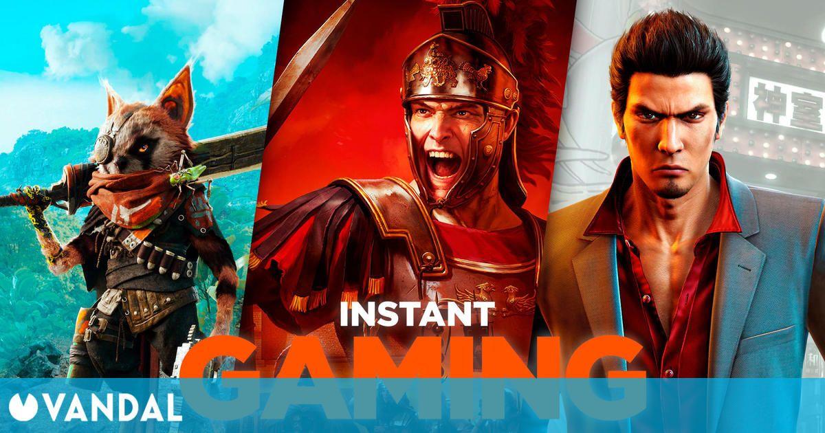 Las 10 mejores ofertas de juegos de PC en Instant Gaming a golpe de martes