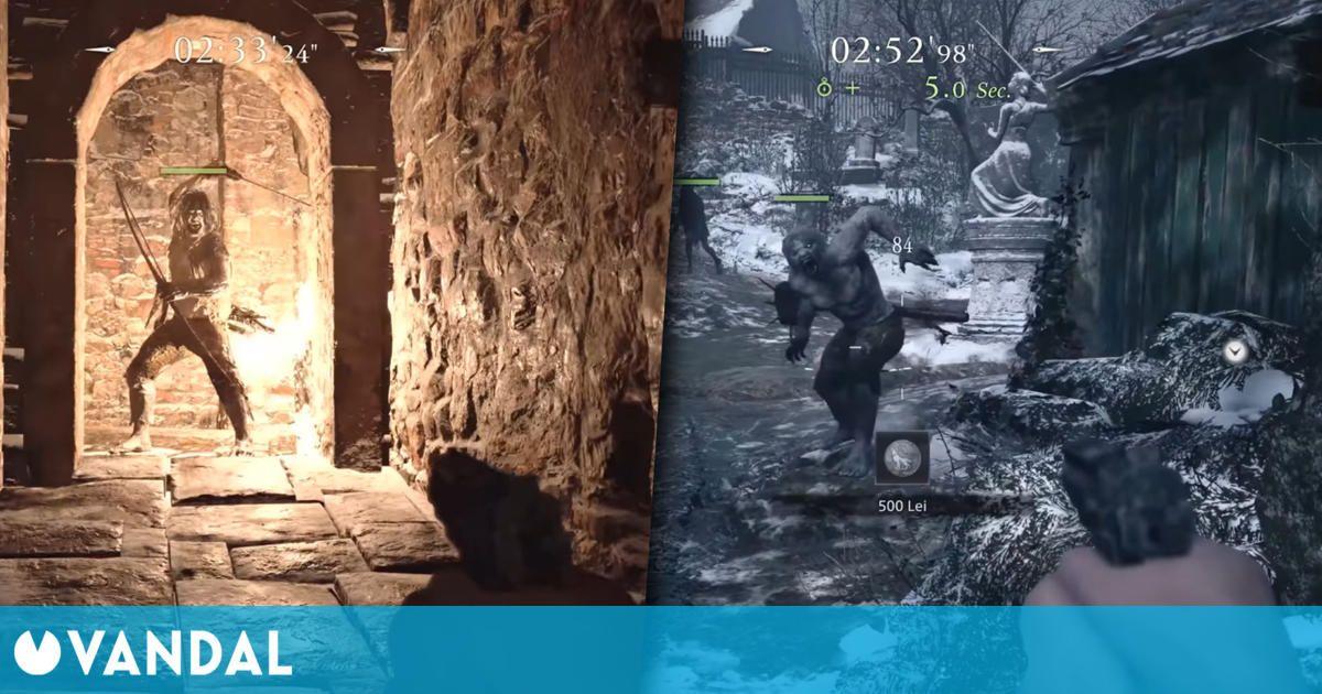 Resident Evil 8: Village muestra su modo Los Mercenarios en un nuevo y extenso gameplay
