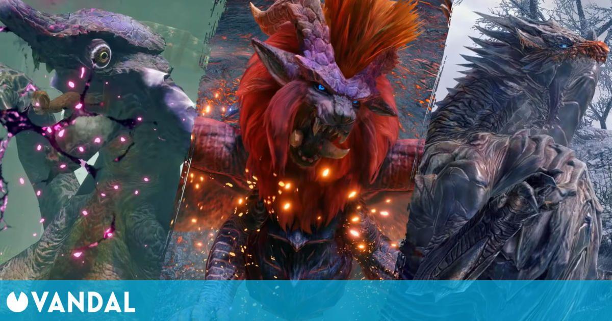 Monster Hunter Rise se actualiza gratis hoy a su versión 2.0 con nuevos monstruos y más