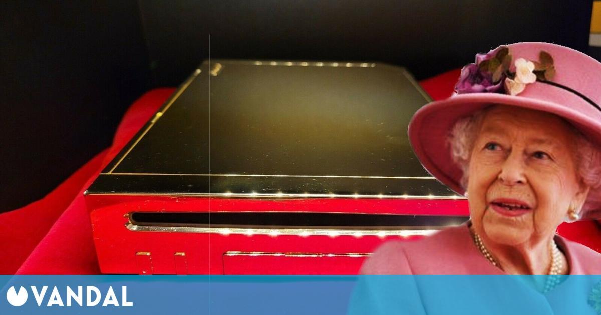 La Nintendo Wii de oro hecha para la reina Isabel II de Reino Unido se vende en subasta