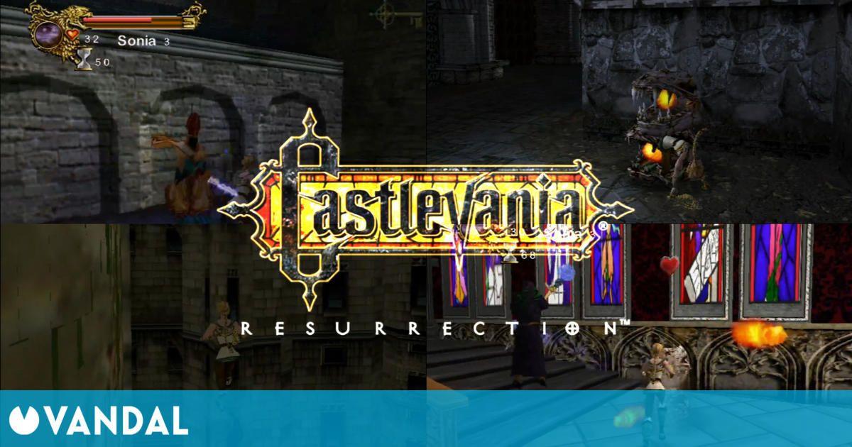 Recuperan y publican la demo de Castlevania: Resurrection, un juego cancelado para Dreamcast