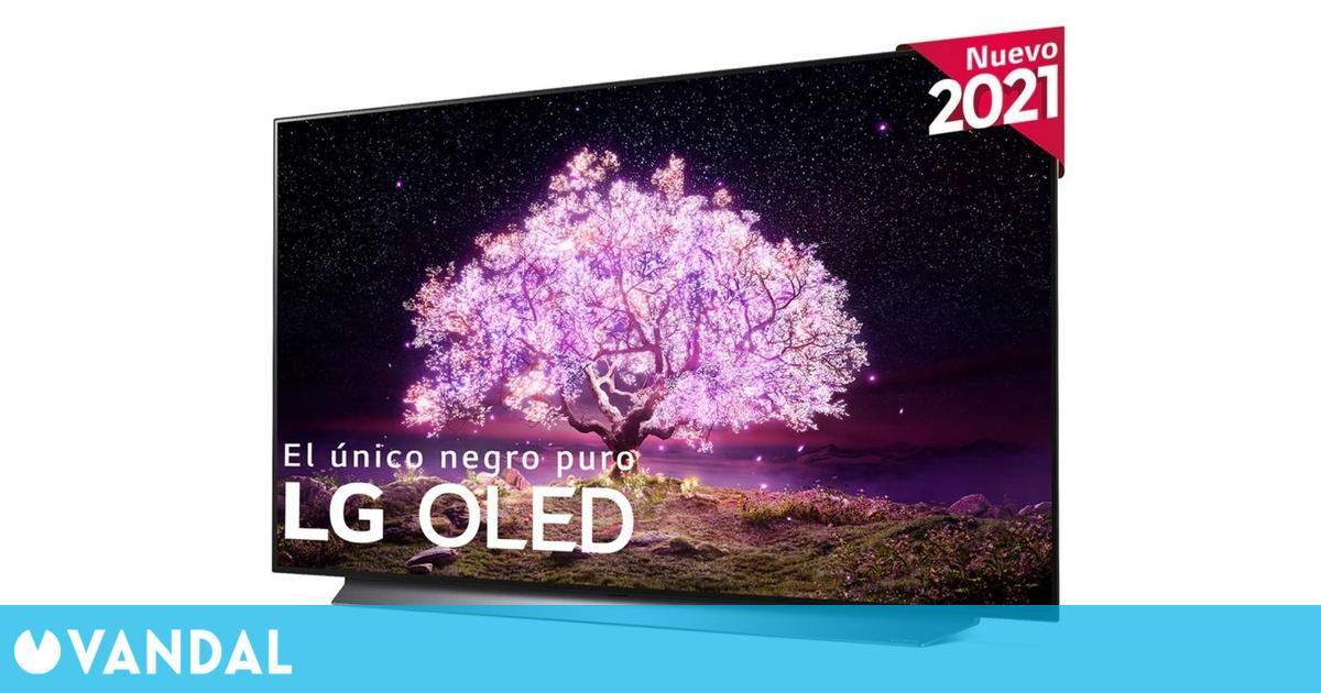 LG lanza en España los TV OLED C1 para jugar: 48 pulgadas, 4K y NVIDIA G-Sync por 1599 euros