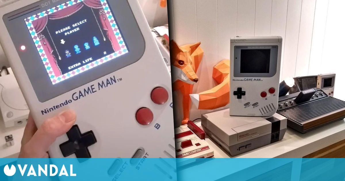 Game Boy se convierte en Game Man a sus más de 30 años gracias a este fan