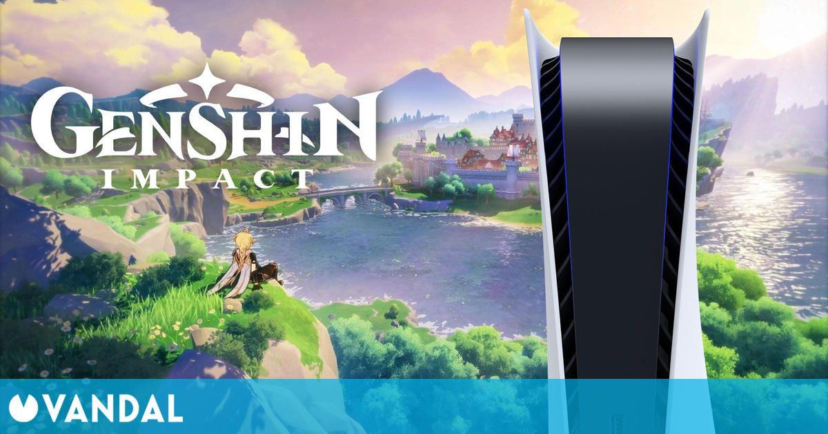Así rinde Genshin Impact en PS5: resolución 4K, tasa de 60 fps poco estable y más
