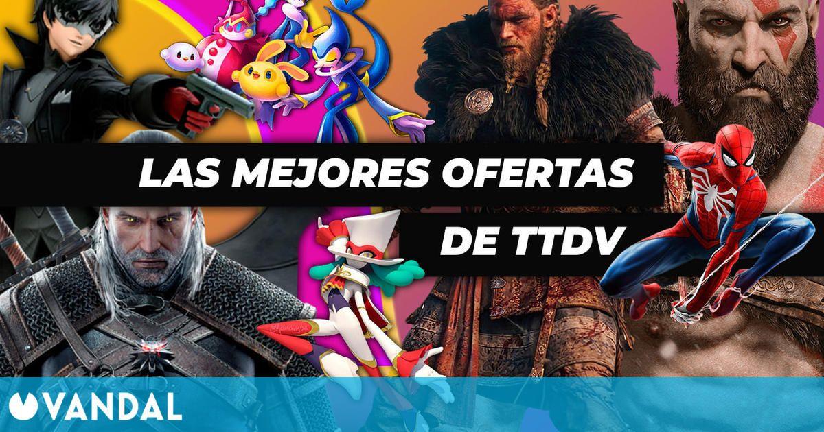 Ofertas de primavera en TTDV en juegos de Sony, Ubisoft, Electronic Arts y más