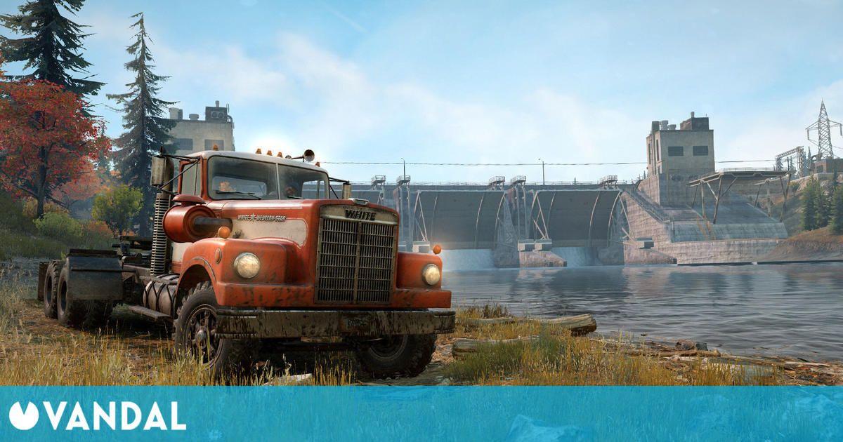 Snowrunner llega a Steam el 18 de mayo