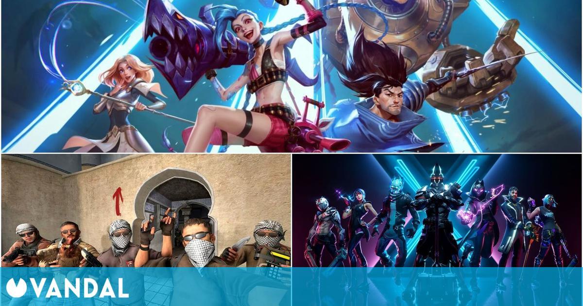 League of Legends, CS:GO y Fortnite, los juegos con más impacto en PC al inicio del 2021