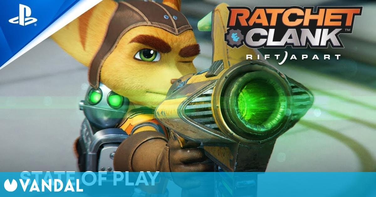 Ratchet & Clank de PS5 se muestra en una espectacular gameplay de más de 16 minutos