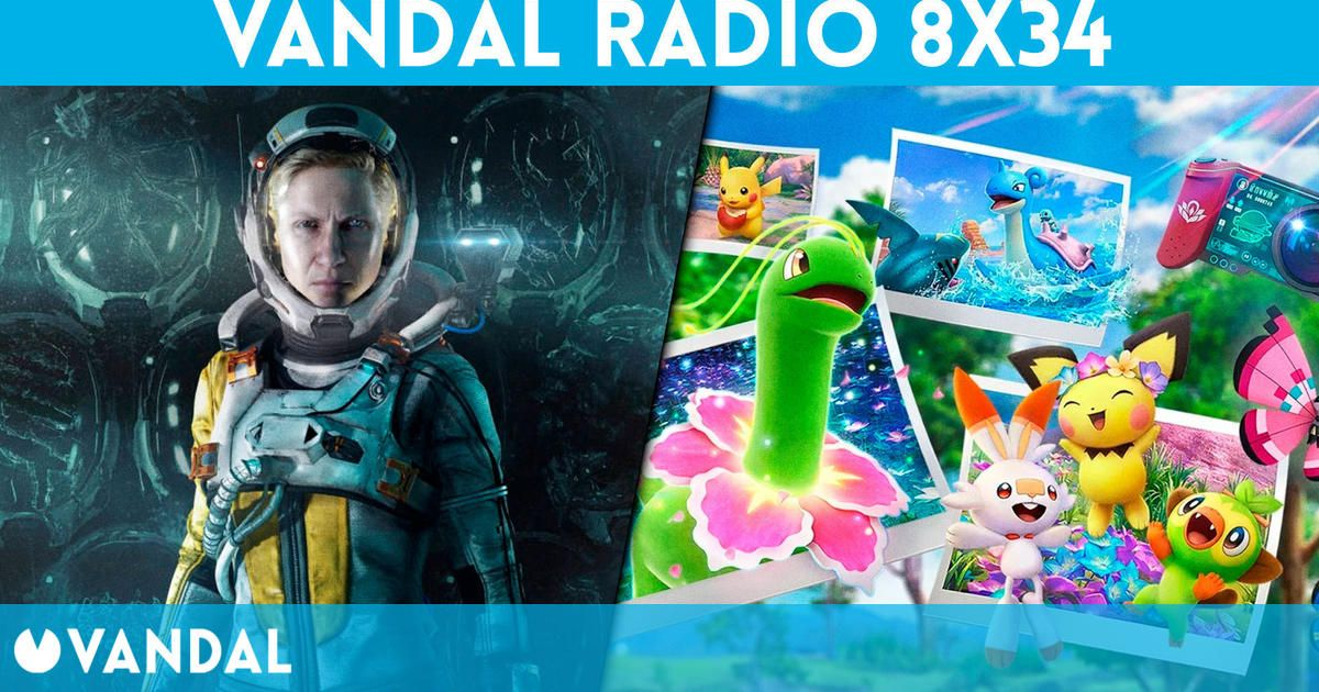 Vandal Radio 8×34 – Returnal y New Pokémon Snap