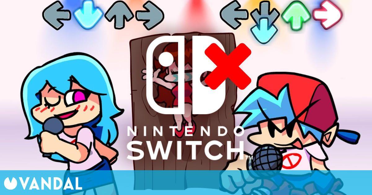 Nintendo rechazó la llegada del juego viral Friday Night Funkin' a Switch