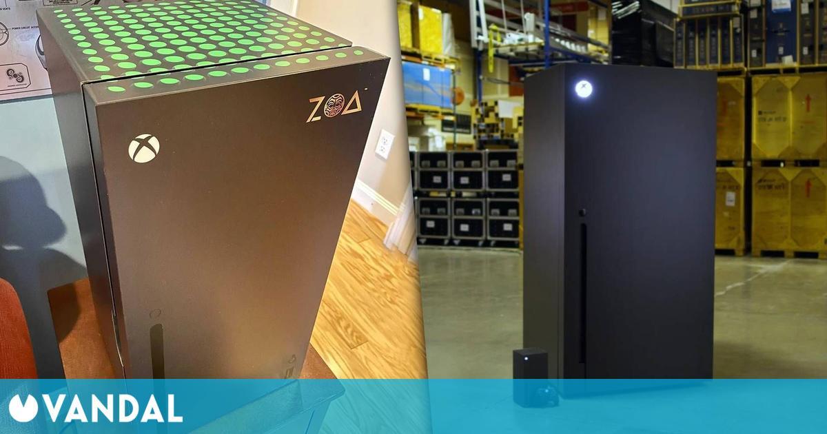 Xbox venderá mini neveras de Series X tras ganar una encuesta en Twitter