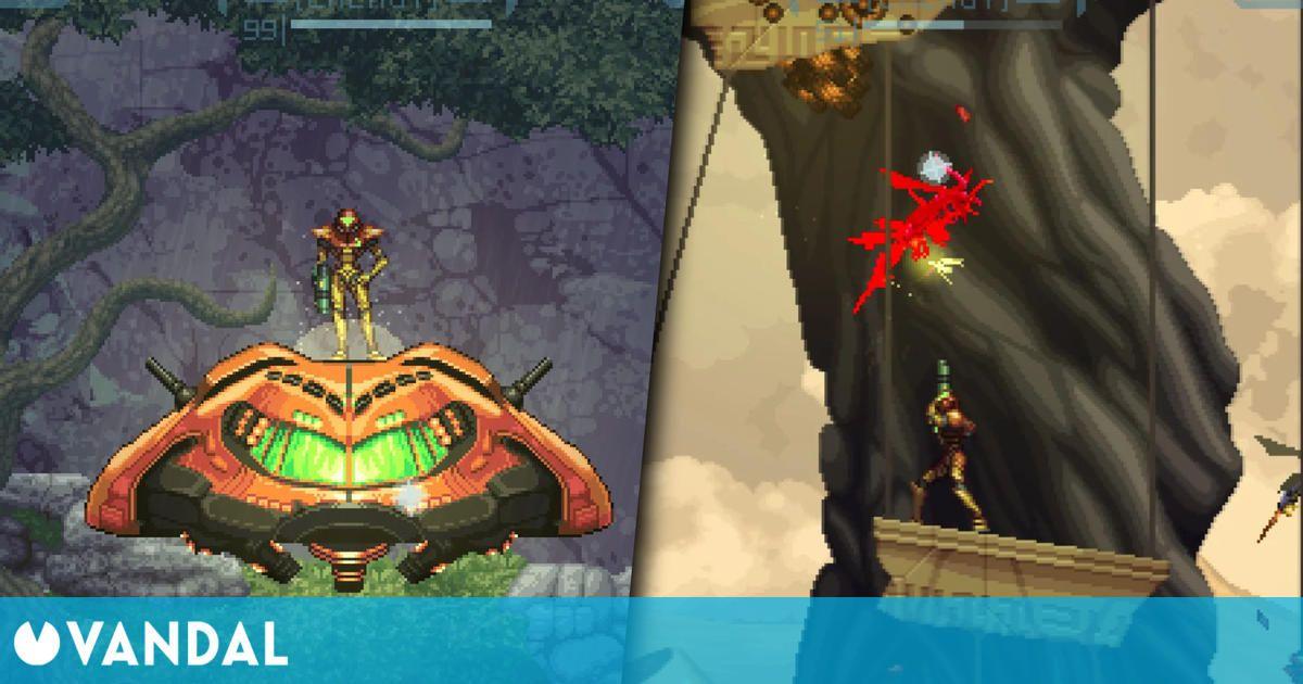 Prime 2D, la versión en dos dimensiones de Metroid Prime creada por fans, ya tiene demo