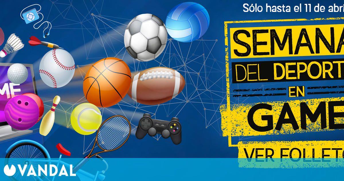 GAME: Ofertas en juegos deportivos hasta el 11 de abril