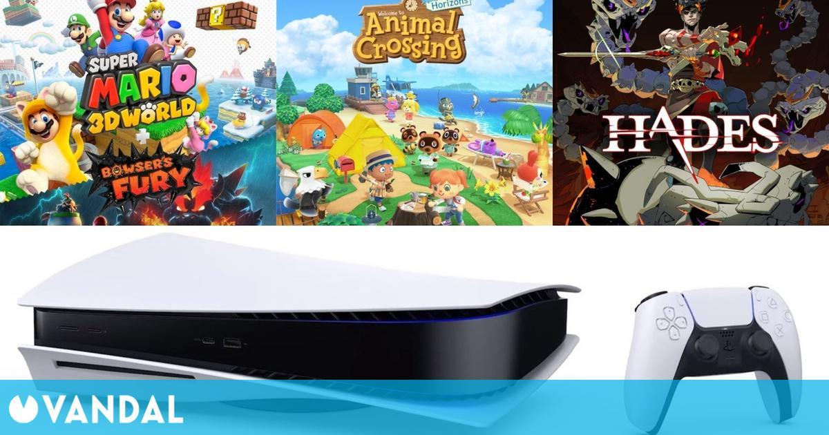 PS5 y los juegos de Switch dominaron las ventas en España en la tercera semana de marzo