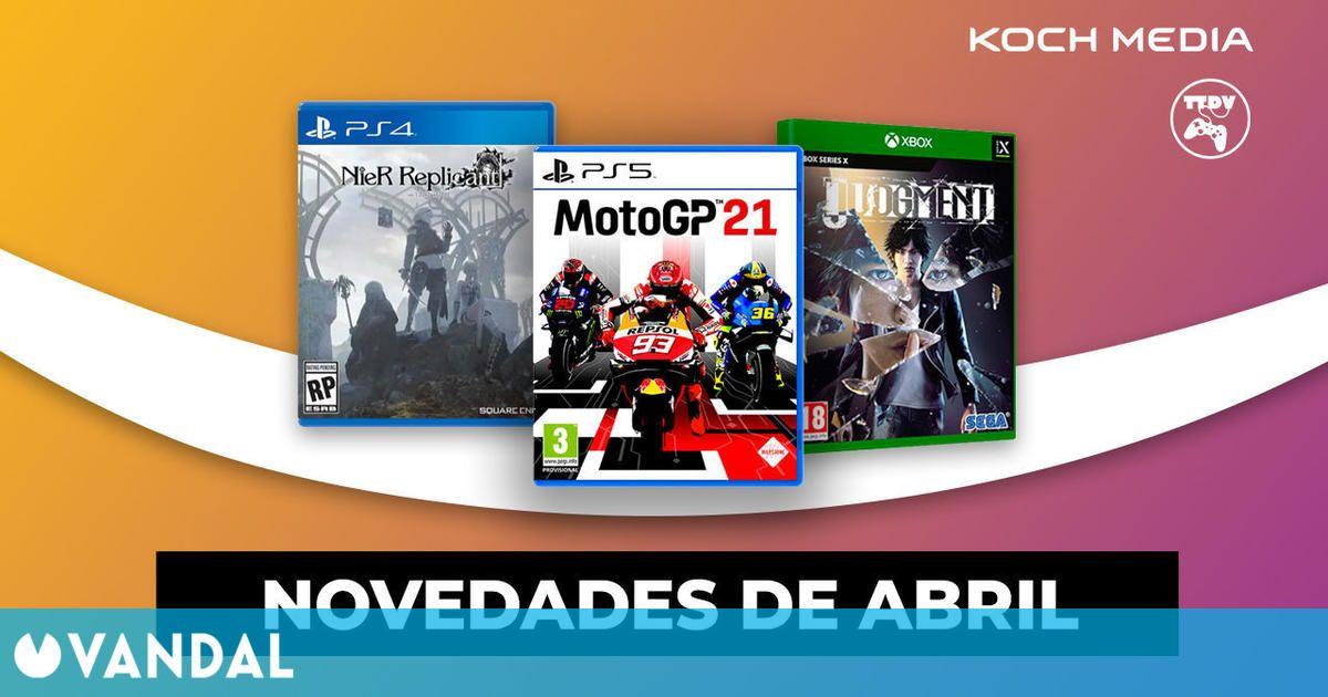 Tu Tienda de Videojuegos abre las reservas de NieR Replicant, Judgment y MotoGP 21