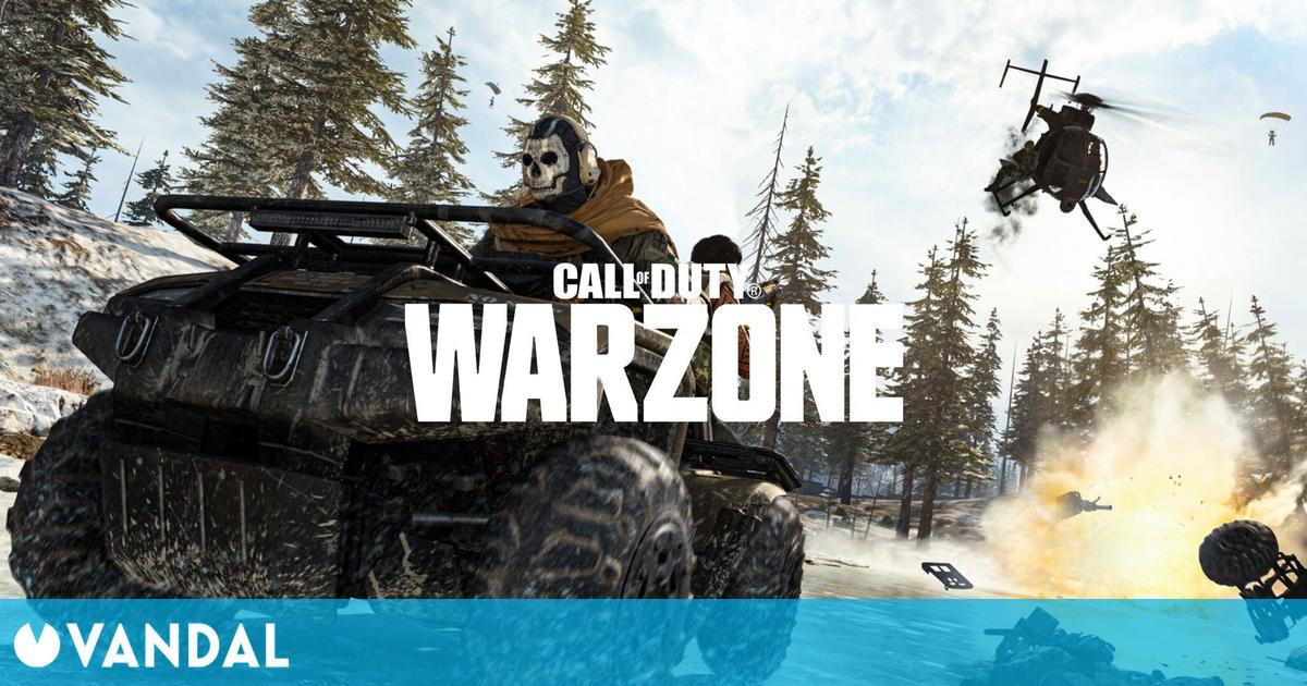 Call of Duty: Warzone, el battle royale gratuito, expulsa a 15.000 jugadores