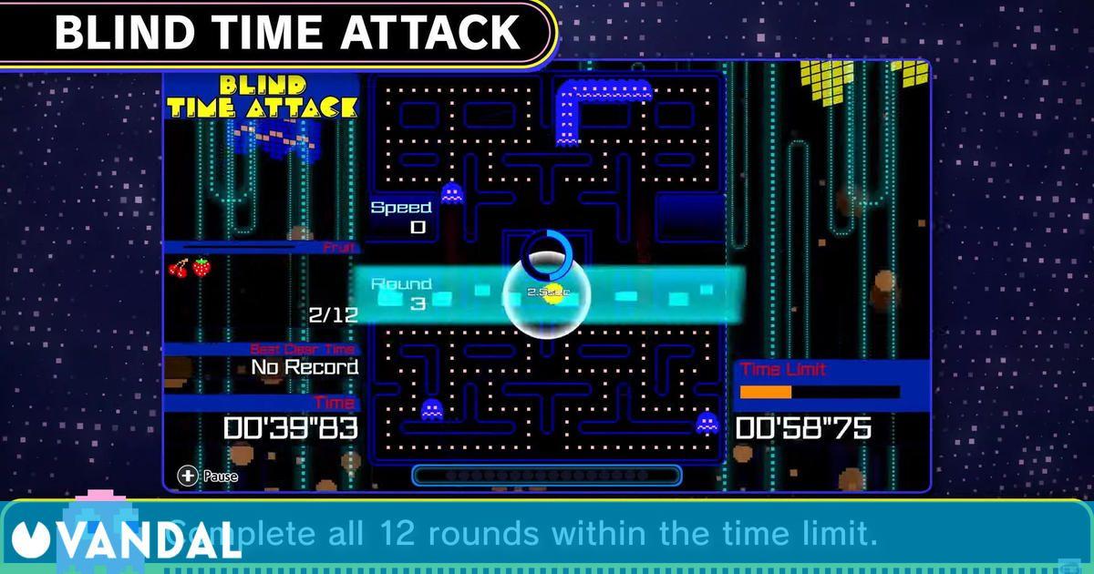 El battle royale Pac-Man 99 se estrena en Switch presentando sus modos DLC en vídeo