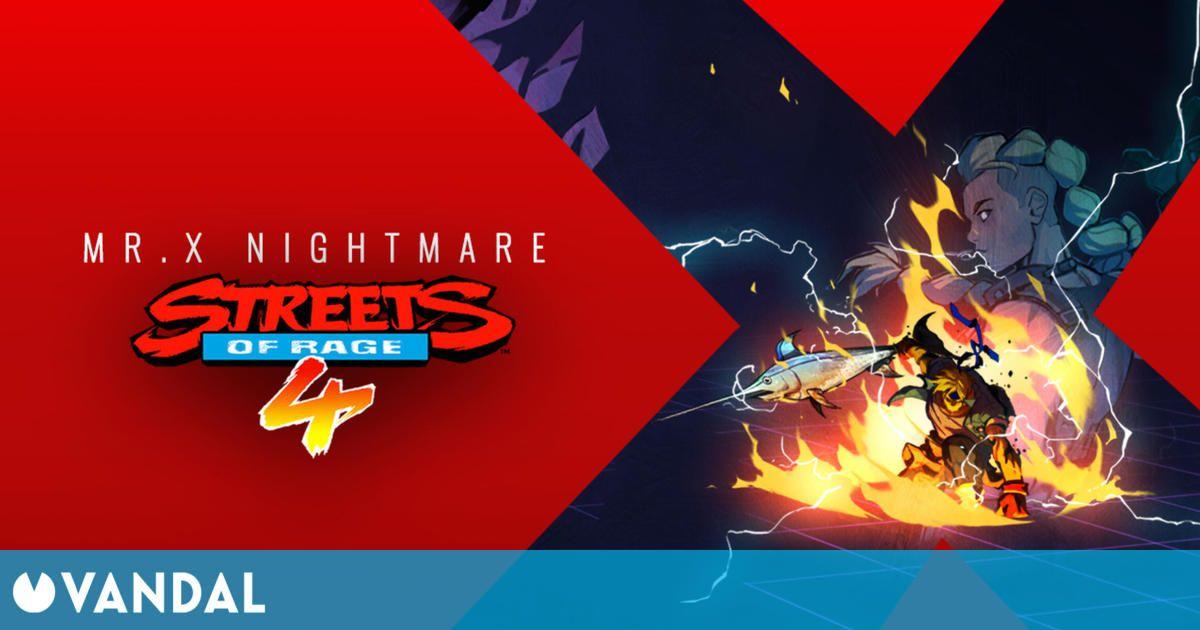 Streets of Rage 4 recibirá este año el DLC Mr. X Nightmare y una actualización gratuita