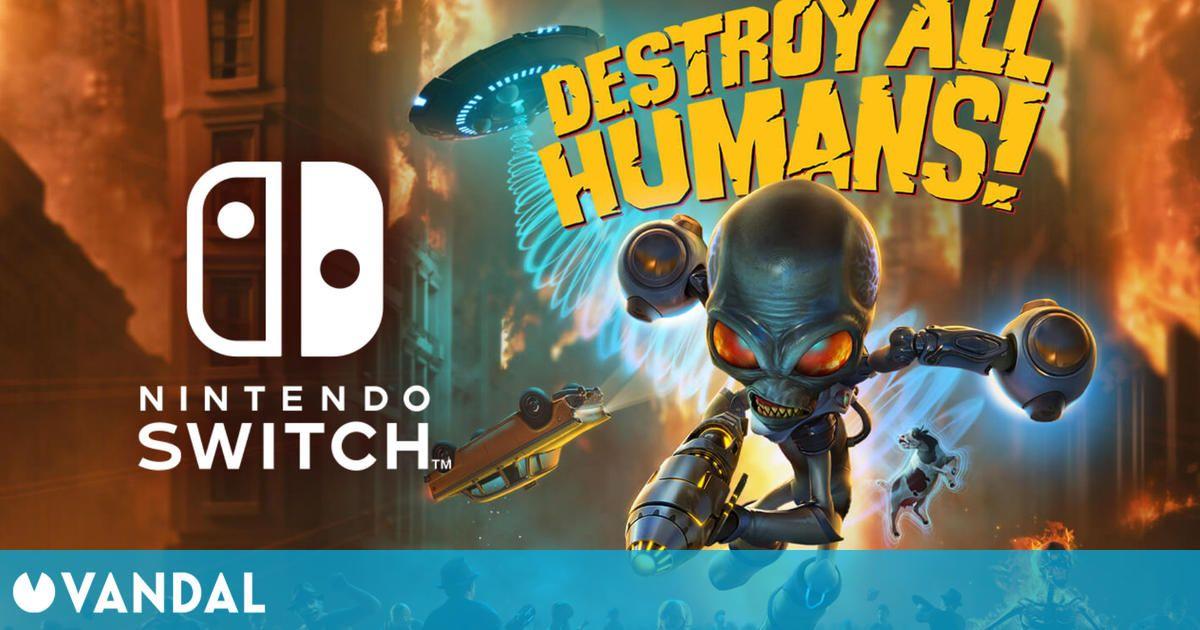 Destroy All Humans! Remake invadirá Nintendo Switch el 29 de junio