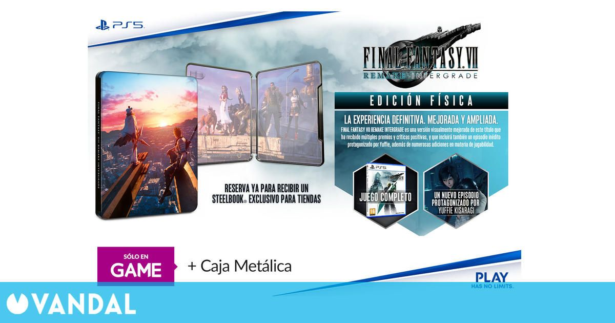 GAME España anuncia las reservas de Final Fantasy VII Remake Intergrade