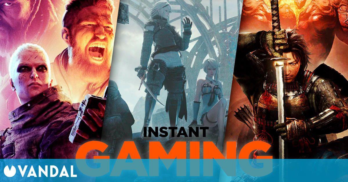 Las 10 mejores ofertas de juegos de PC en Instant Gaming para el fin de semana