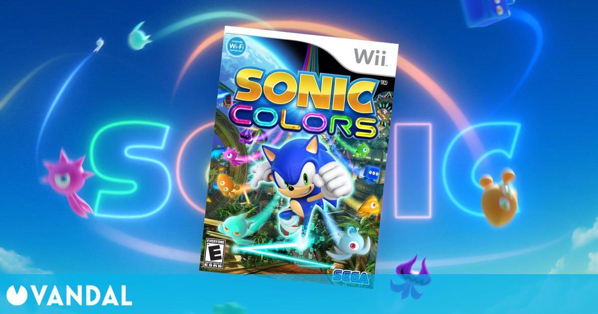 Una remasterización de Sonic Colours, de Wii, aparece registrada por una compañía alemana