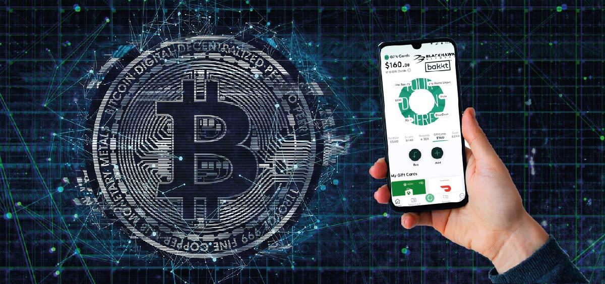 Bakkt y Blackhawk habilitan la compra de gift cards con bitcoin