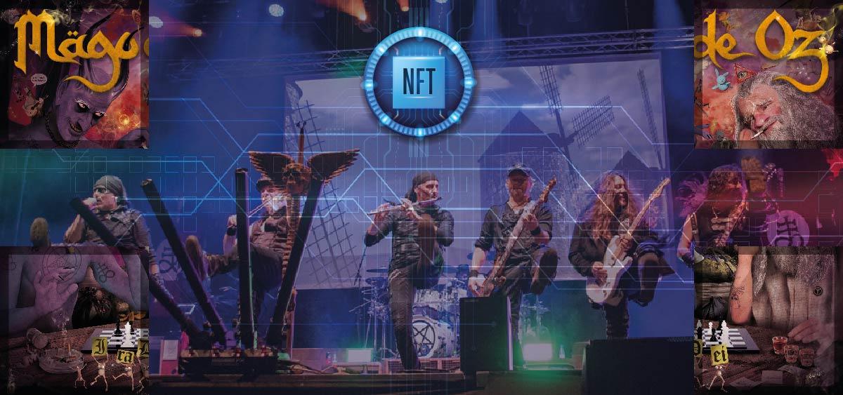 Banda Mago de Oz lanza en NFT una portada de álbum inédita