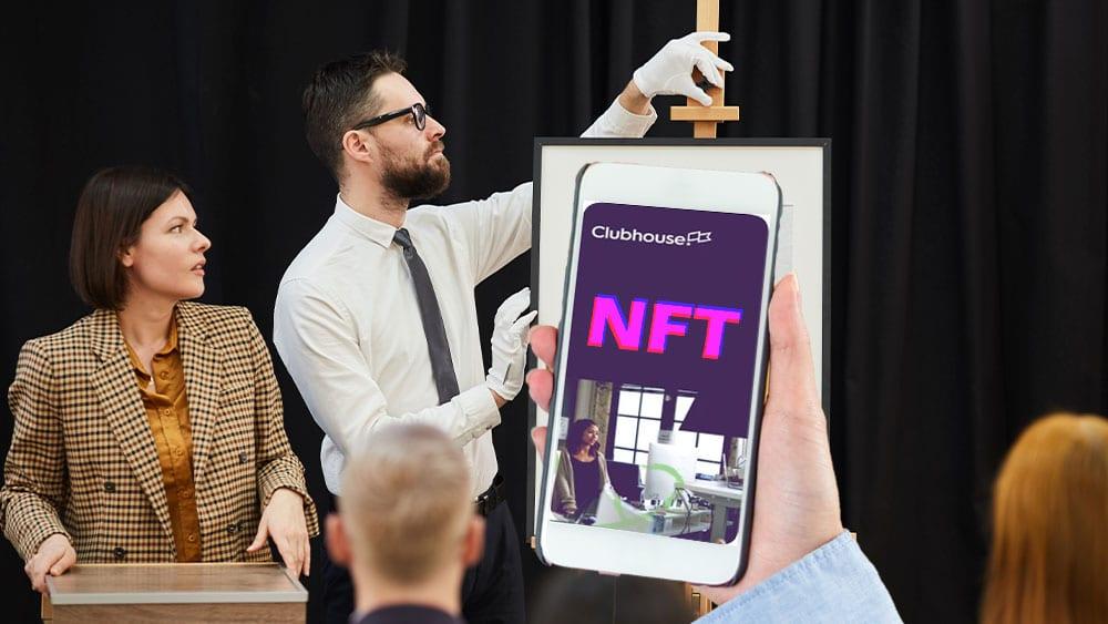 Clubhouse busca expertos en criptomonedas para vender su contenido en el mercado NFT