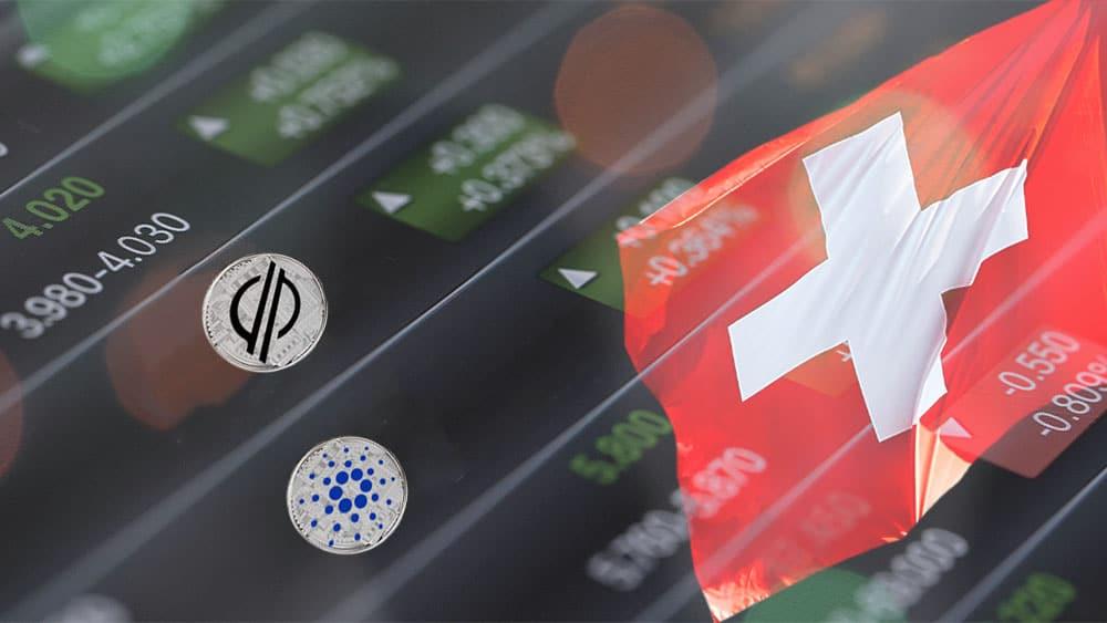 ETP de Cardano y Stellar se estrenan en bolsa líder de Suiza