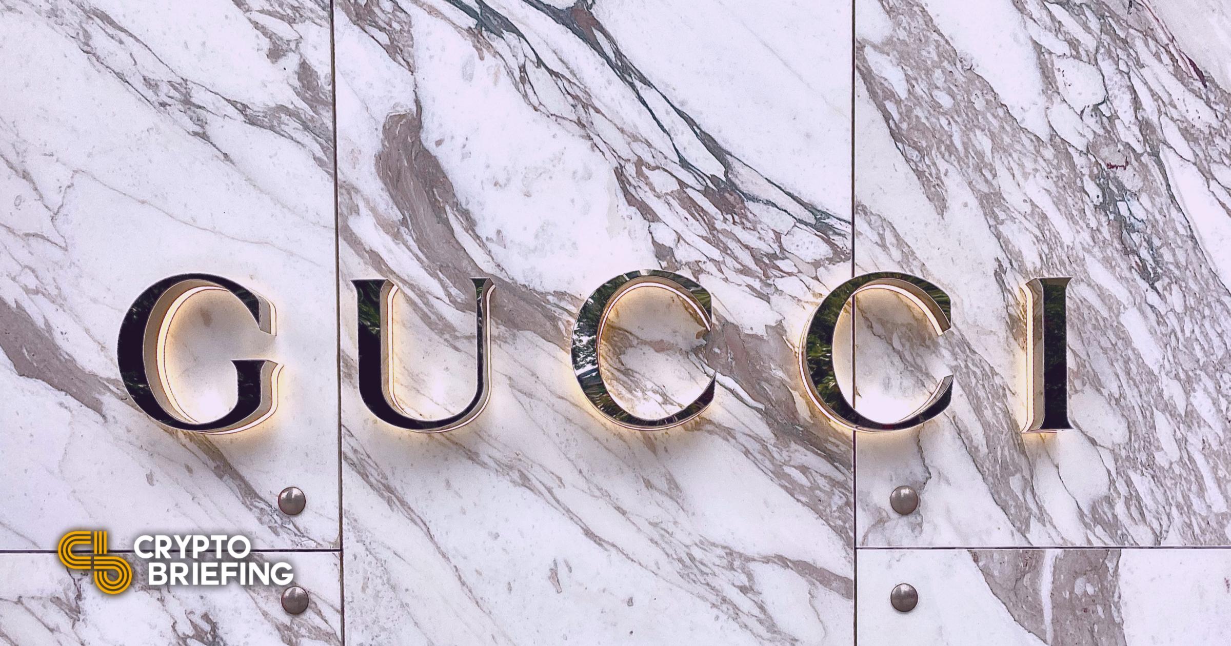 La marca de lujo Gucci presuntamente apunta al espacio NFT