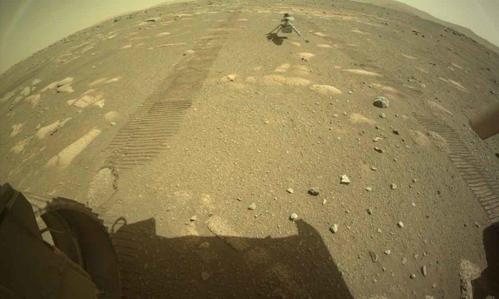 Ingenuity logra un hito, al volar por primera vez en Marte