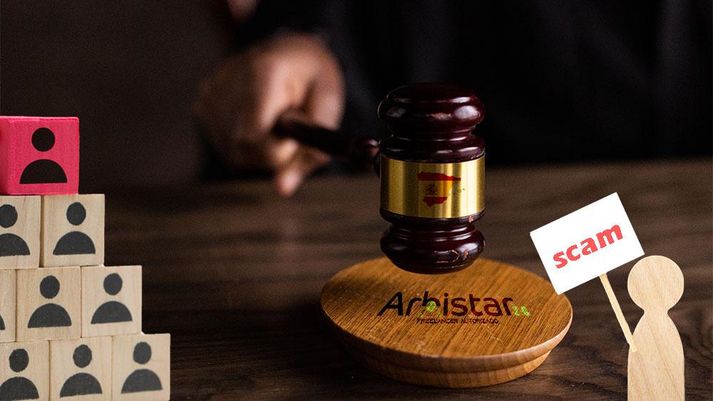Juez de España cataloga a Arbistar como la «mayor trama piramidal de criptomonedas»