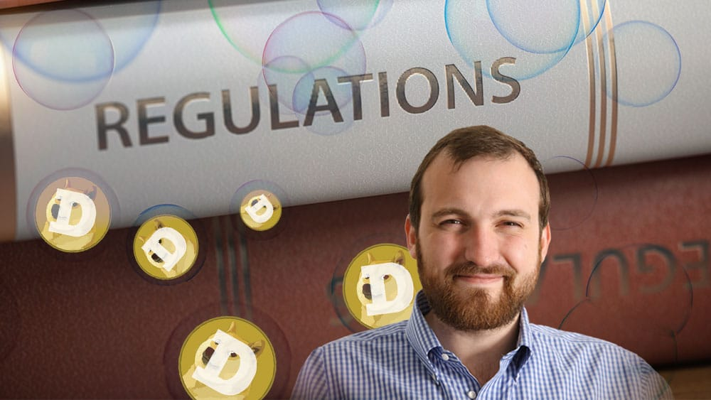 La burbuja de dogecoin atraerá a los reguladores, dice el fundador de Cardano