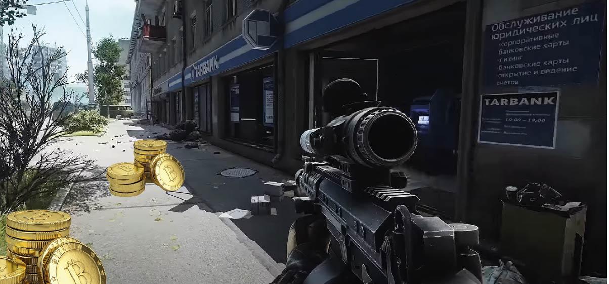 La dificultad del videojuego Escape from Tarkov se ve afectada por el precio de bitcoin