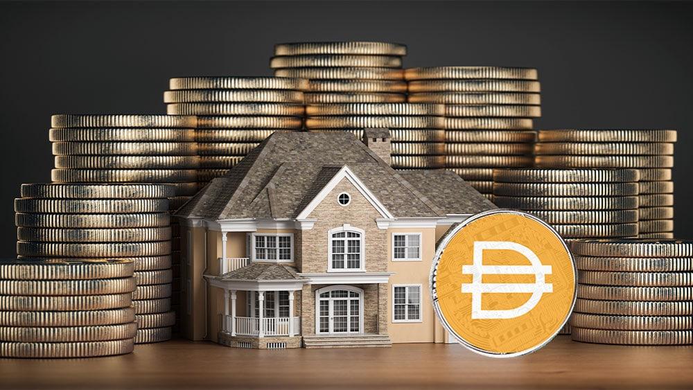 La stablecoin DAI ahora está respaldada también por bienes raíces