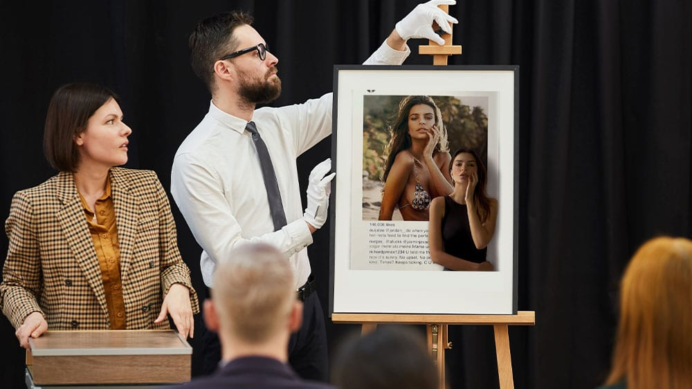 Modelo Emily Ratajkowski subastará NFT en defensa de su imagen y derechos de autor
