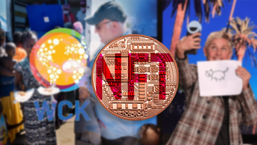 Ellen DeGeneres vende NFT para apoyar organización del chef José Andrés