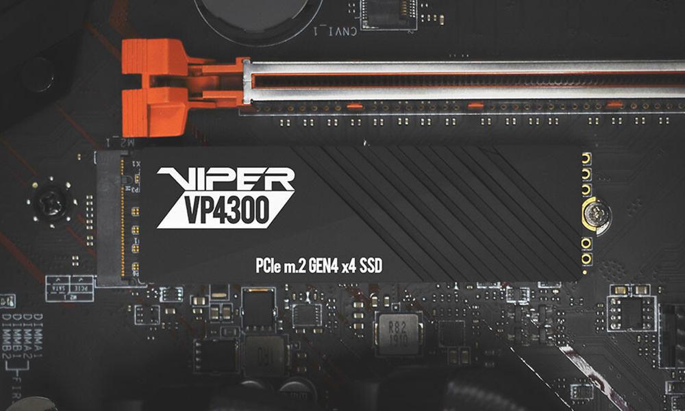 Patriot Viper VP4300, otra SSD PCIe 4.0 de alto rendimiento