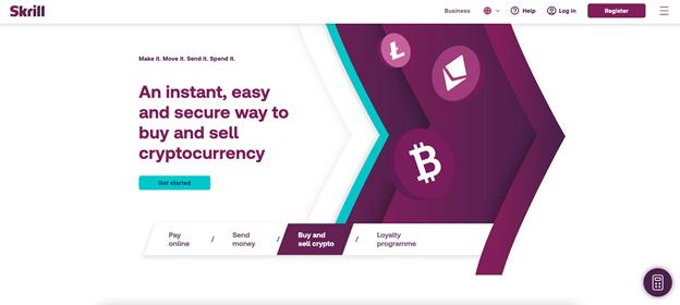 Compre criptomonedas con una marca financiera de confianza global