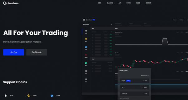 OpenOcean: agregando la liquidez total en todos los mercados de criptomonedas