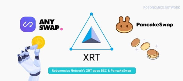 XRT de Robonomics Network se convierte en BSC y PancakeSwap