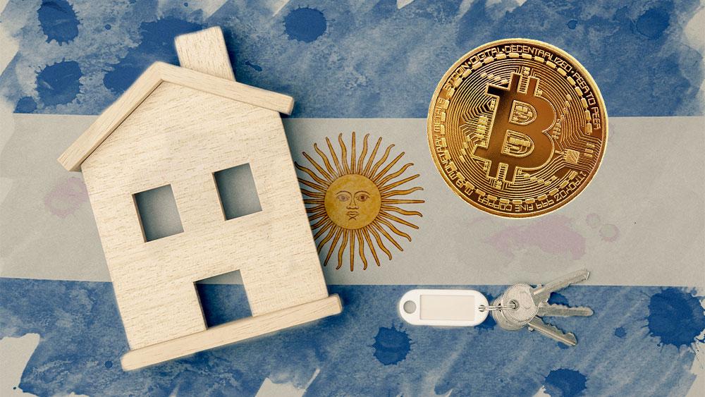 Venta de bienes raíces en bitcoin busca reactivar mercado inmobiliario en Argentina