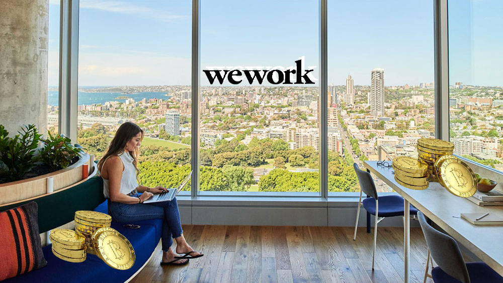 WeWork aceptará bitcoin como forma de pago y lo tendrá en su balance