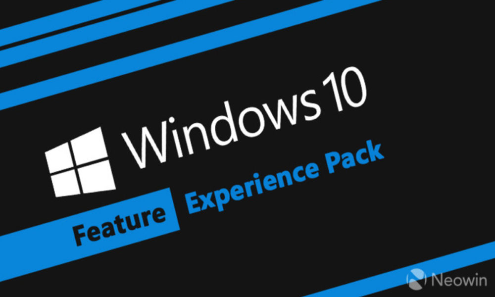 Microsoft lanza un nuevo Windows Feature Experience Pack